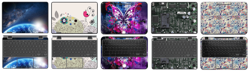Personalize Your School Chromebook   Customize Your Chromebook   Chromebook Skins   Keyboard Skins