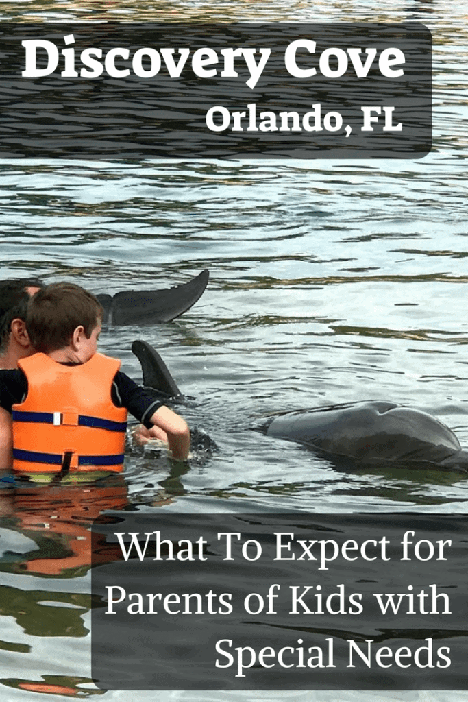 A review of what parents of special needs kids can expect at Discovery Cove. Specifically child with autism. #Autism #DiscoveryCove #specialneeds #vacations