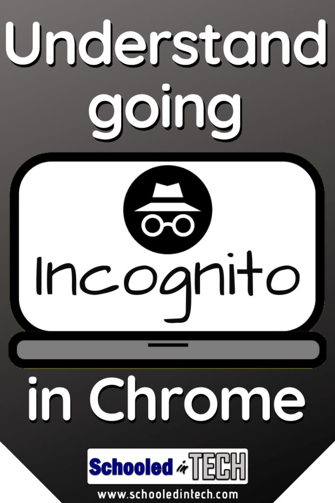 Everything You Want to Know About Google Chrome Incognito Windows. Great for teachers working with students. Shopping for gifts. Works on a Chromebook, phone, iPhone, and Macbook.